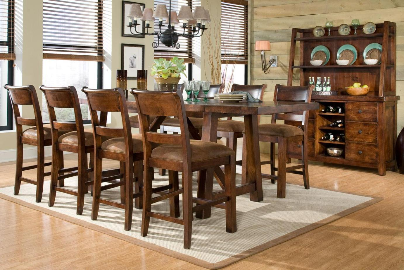 Image of: Pub Style Dining Sets Cheap