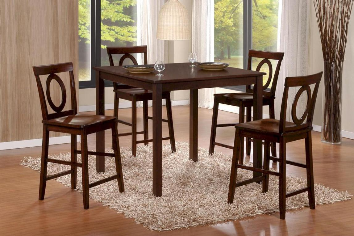 Image of: Pub Style Dining Sets Out Of Reclaimed Wood