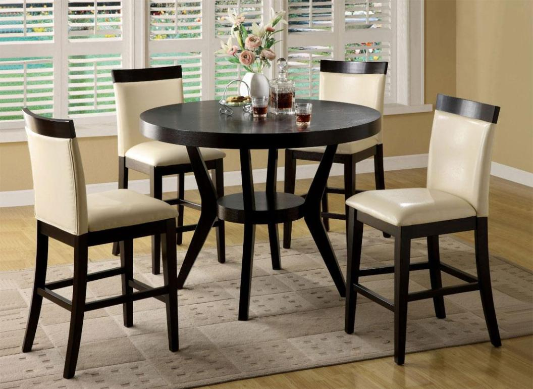 Image of: Pub Style Dining Sets Round