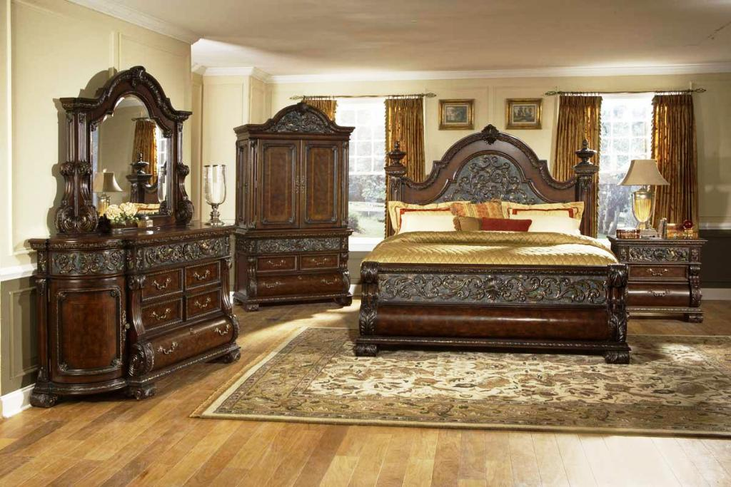 Pulaski Bedroom Furniture Edwardian