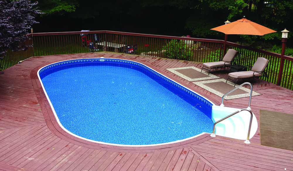 Image of: Radiant Pools with Deck