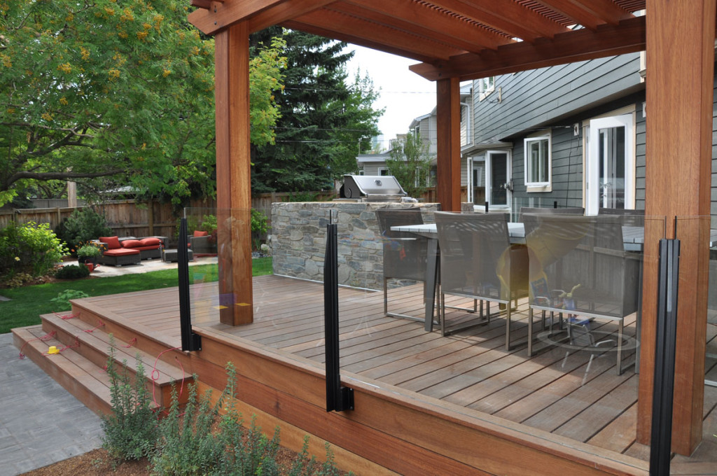Image of: Railings for Decks Home