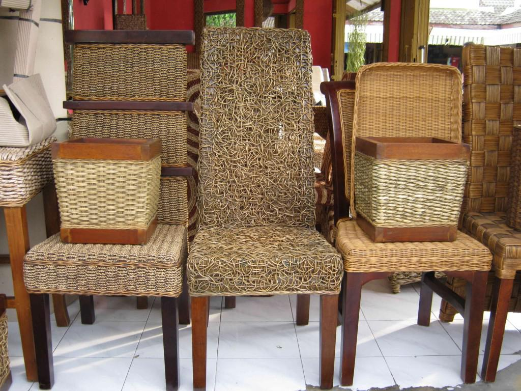Image of: rattan dining chairs cheap