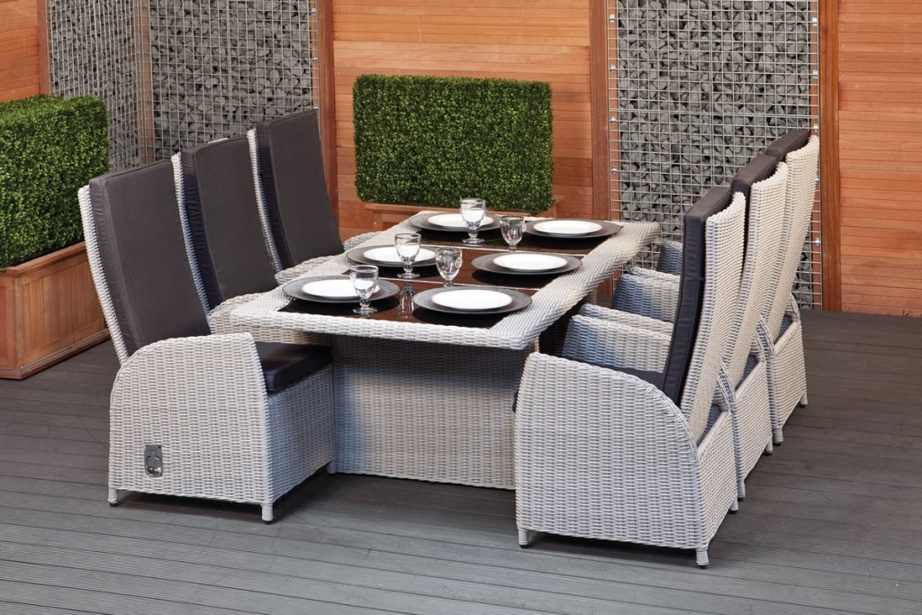 Image of: rattan dining chairs target
