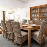 rattan dining chairs and table