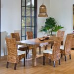 Rattan Parsons Dining Chairs