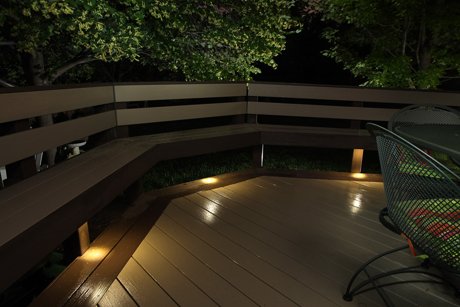 Image of: Recessed Deck Lighting Floor