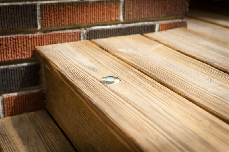 Image of: Recessed Deck Lighting Led