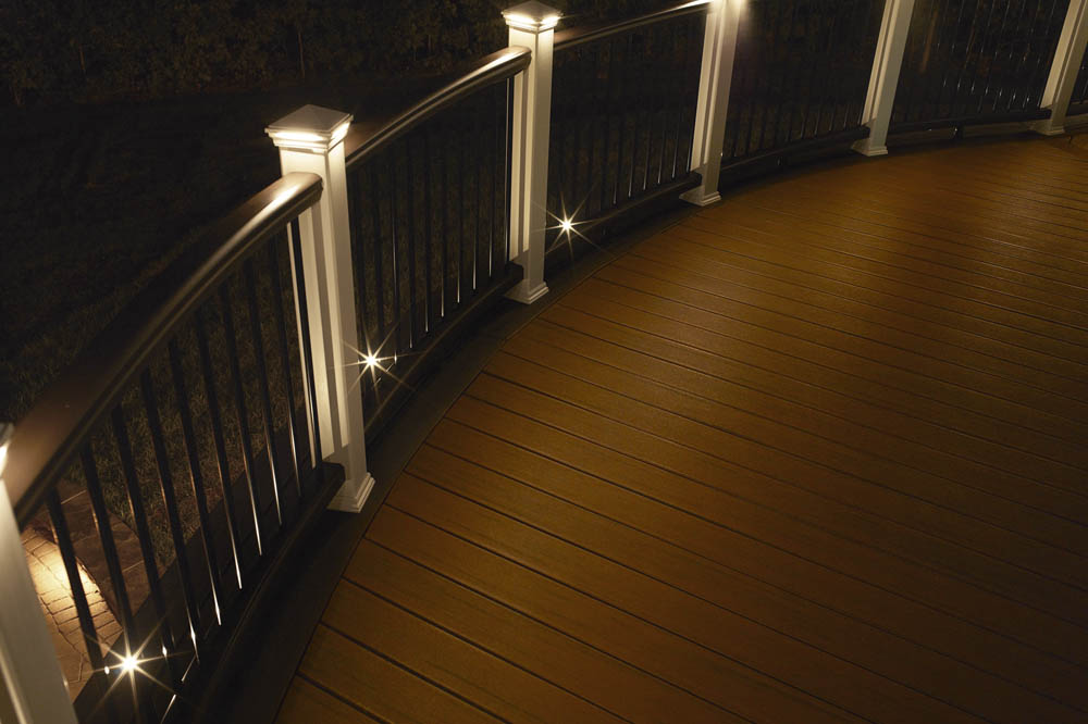 Recessed Deck Lighting Rail