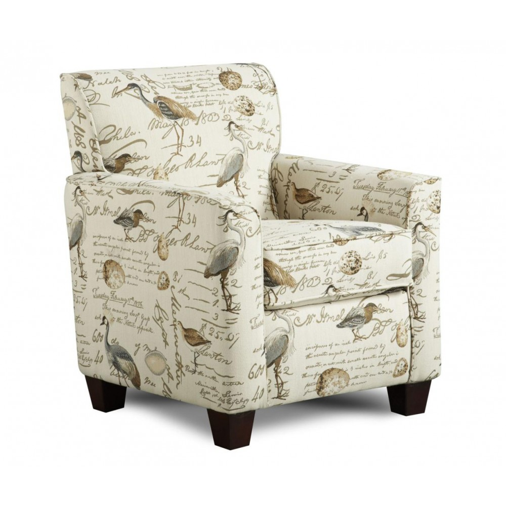 Image of: Reclining Accent Chair Model