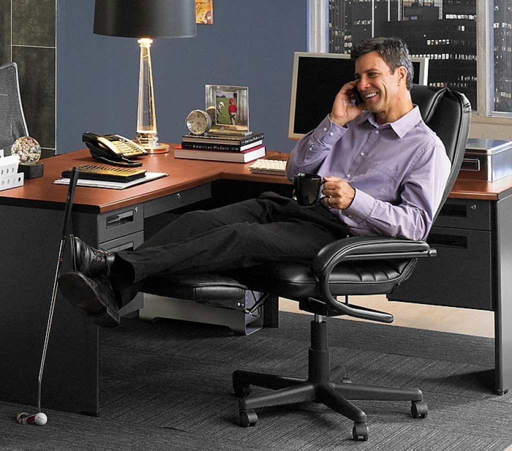 Image of: reclining office chair