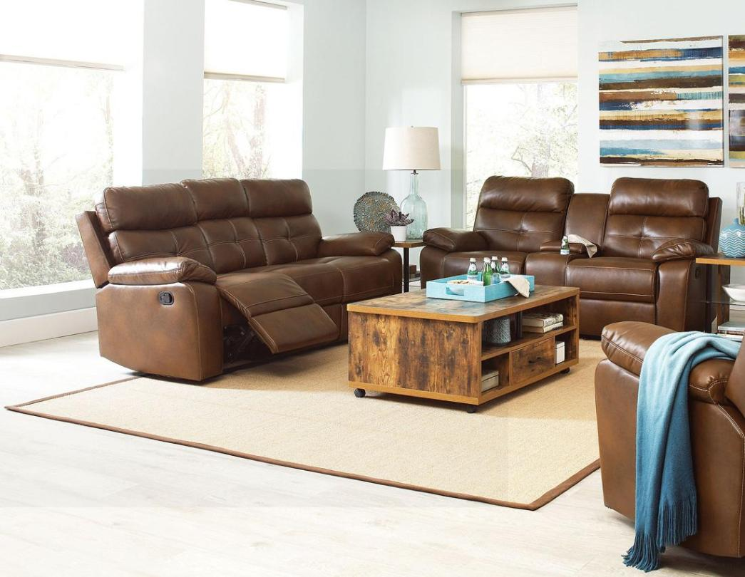 Image of: Reclining Sofa Loveseat Sets