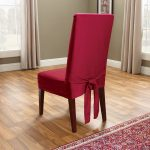 red parson chair slipcovers