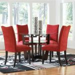 Red Parsons Dining Chairs