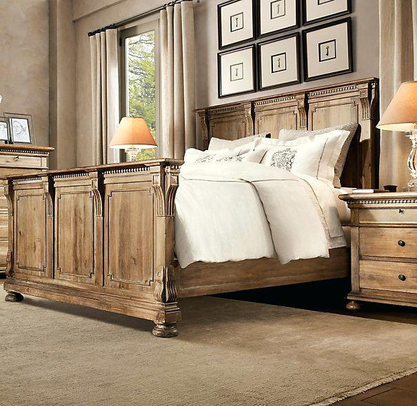Image of: Restoration Hardware Bedroom Design