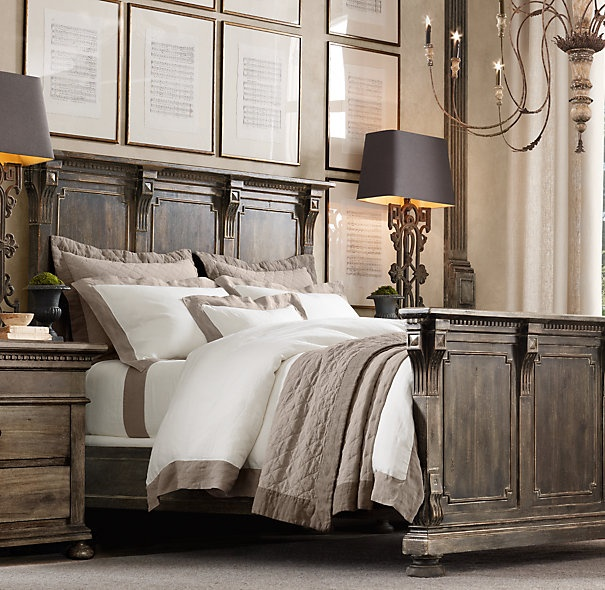 Image of: Restoration Hardware Bedroom Lighting