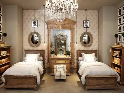 Image of: Restoration Hardware Bedroom