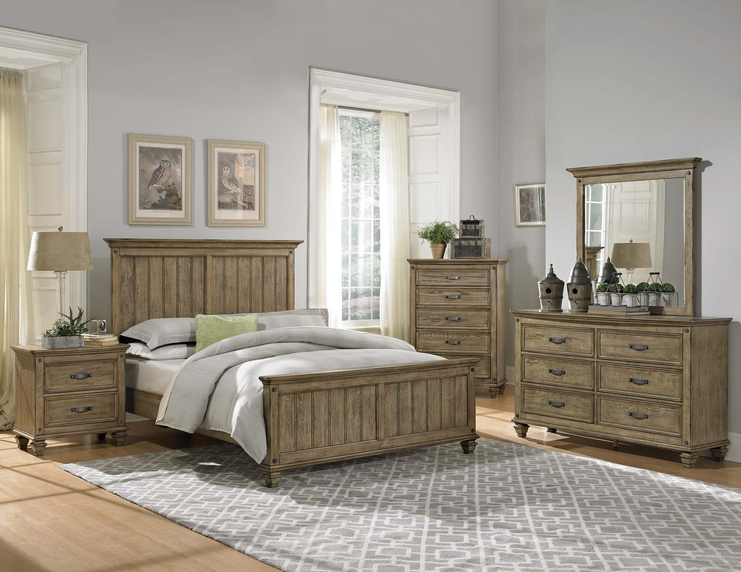 Image of: Riverside Driftwood Bedroom Furniture