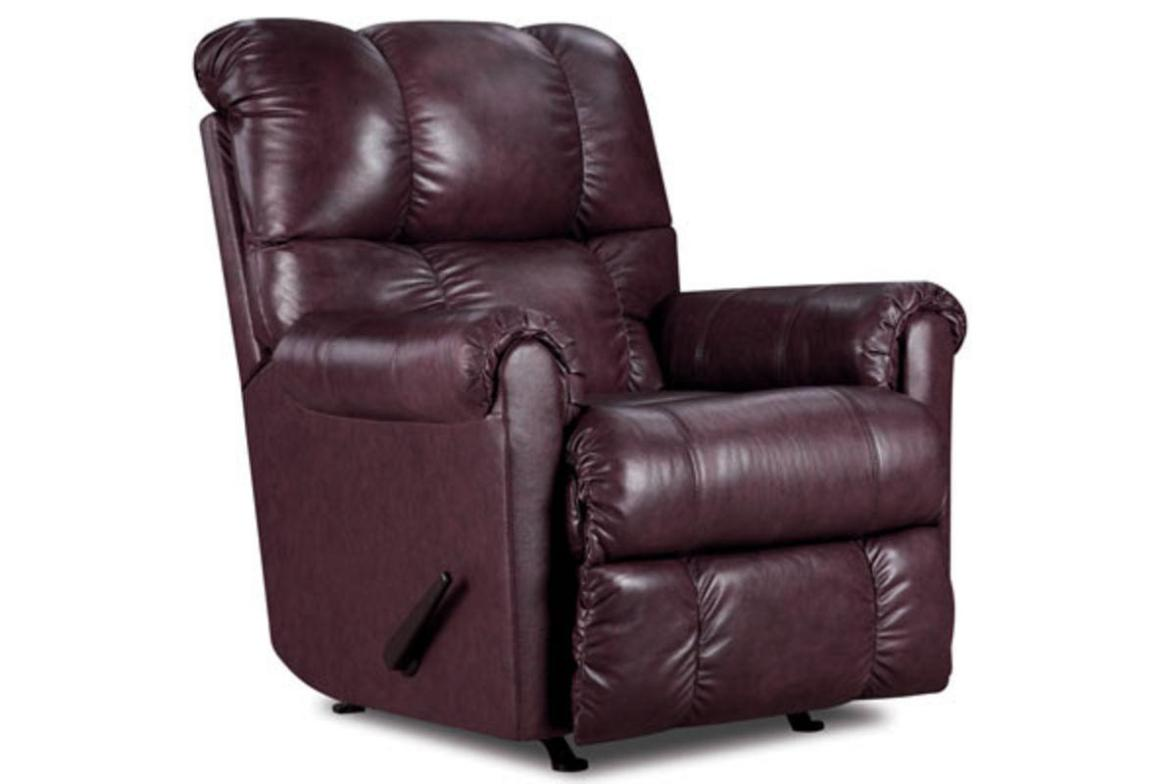 Image of: Rocker Recliner Loveseat Leather