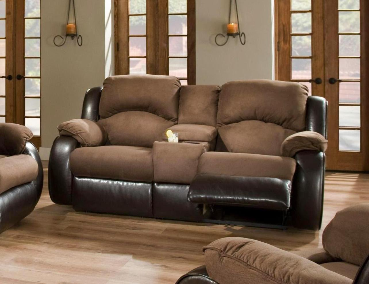 Image of: Rocking Loveseat Recliner