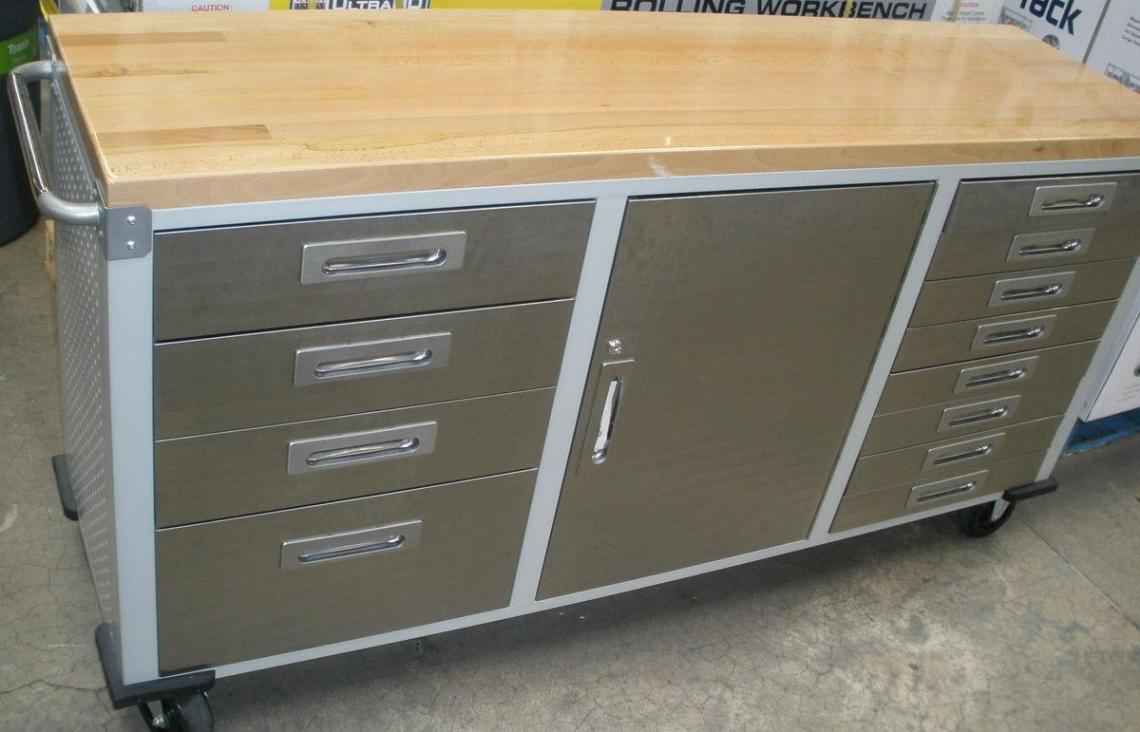 Image of: Rolling Storage Cart With Drawers