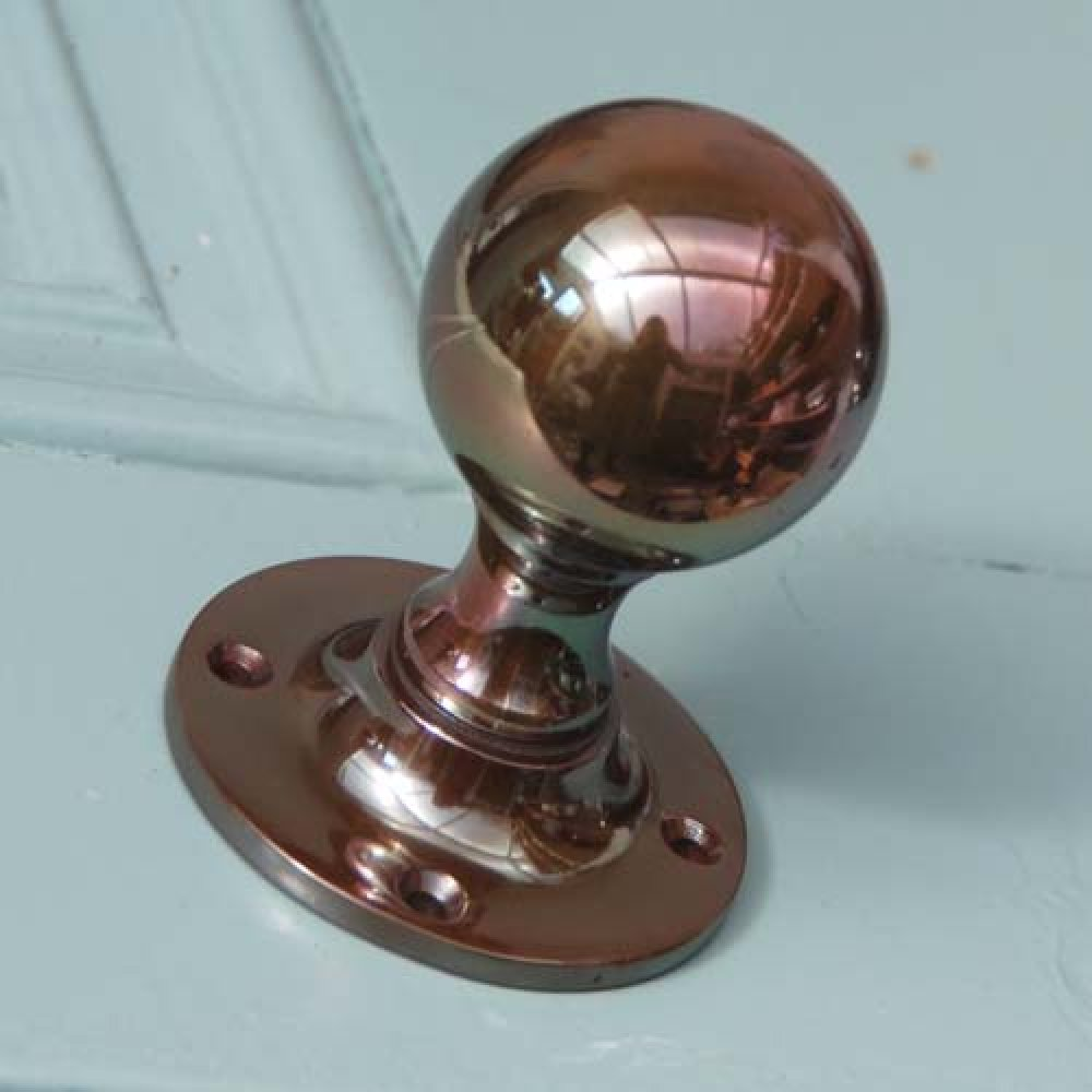 Round Bronze Door Knobs