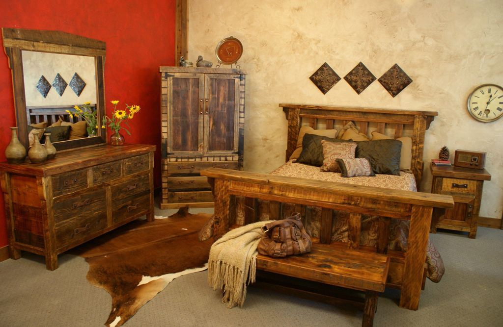 Image of: Rustic Bedroom Decor Pictures