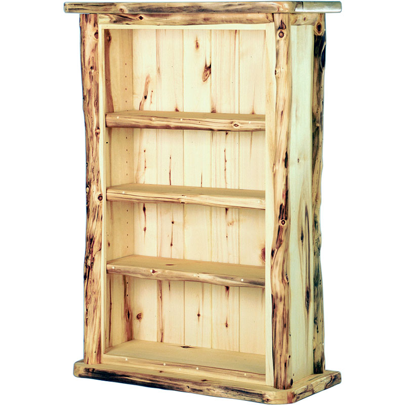 Image of: Rustic Bookcase  Mexican Rustic Bookcase