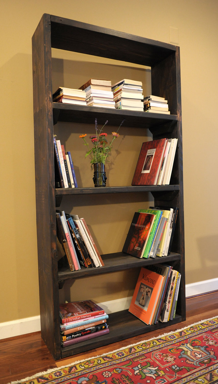Rustic Bookcase Rustic Bookshelves Designs
