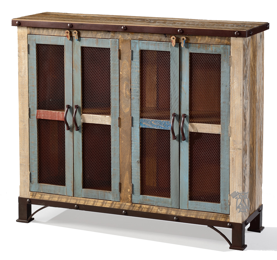 Image of: Rustic Bookcase  hunter