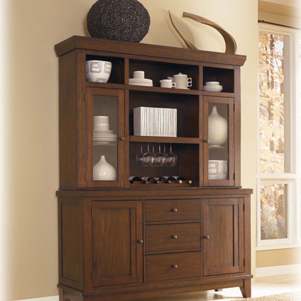 Image of: rustic china cabinets and hutches