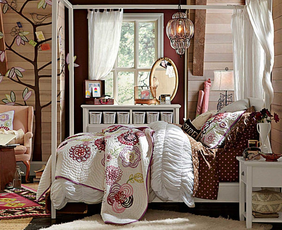 Image of: Rustic Decorating Ideas For Bedroom