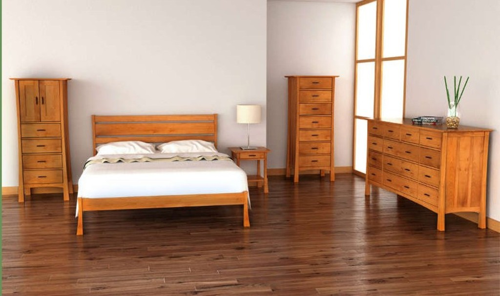 Image of: Rustic Mission Style Bedroom Furniture
