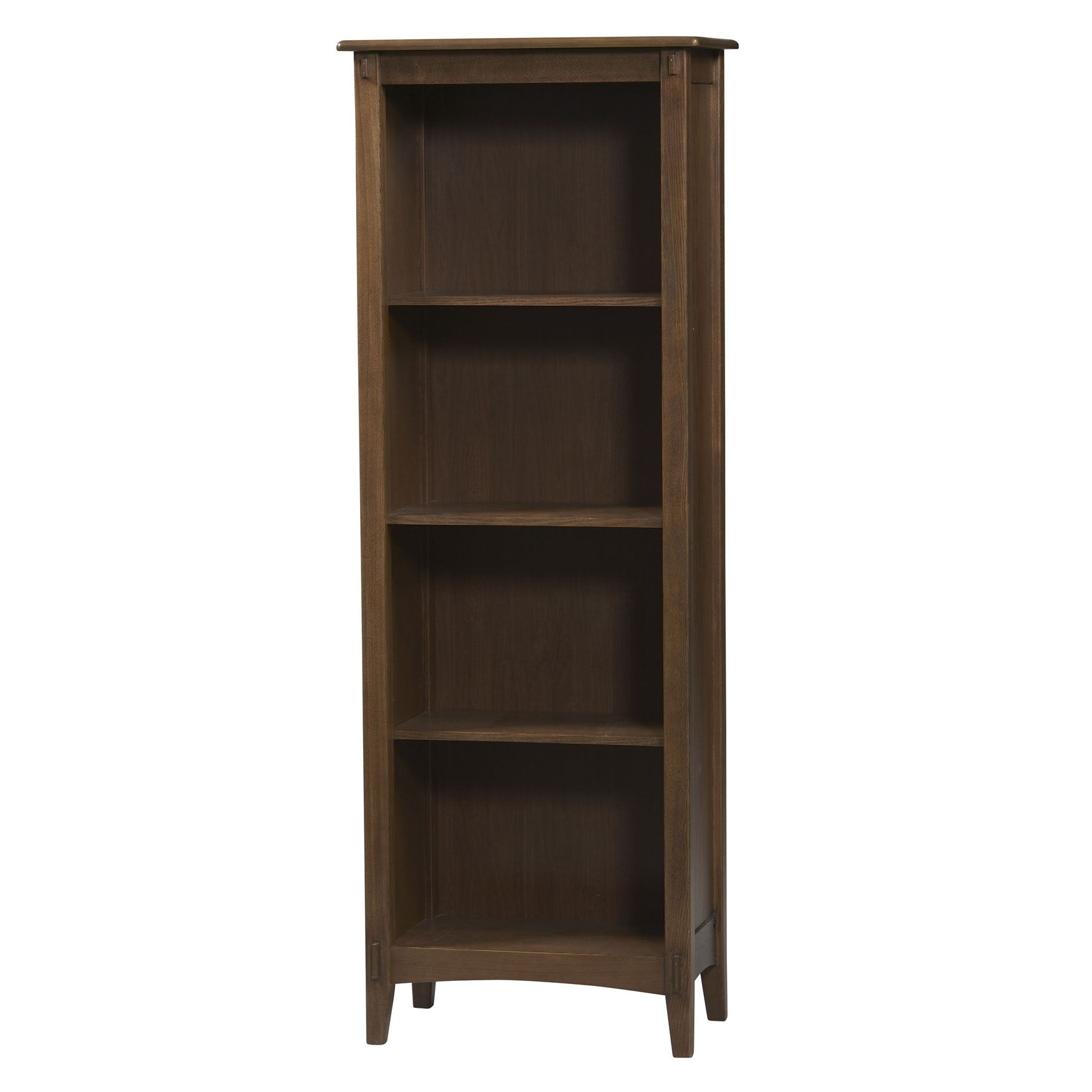 Image of: Rustic Mission Style Bookcase