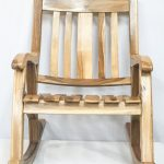Rustic Oversized Rocking Chair