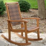 Rustic Porch Rocking Chair