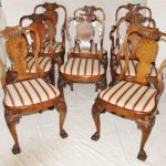 Rustic Queen Anne Dining Chairs