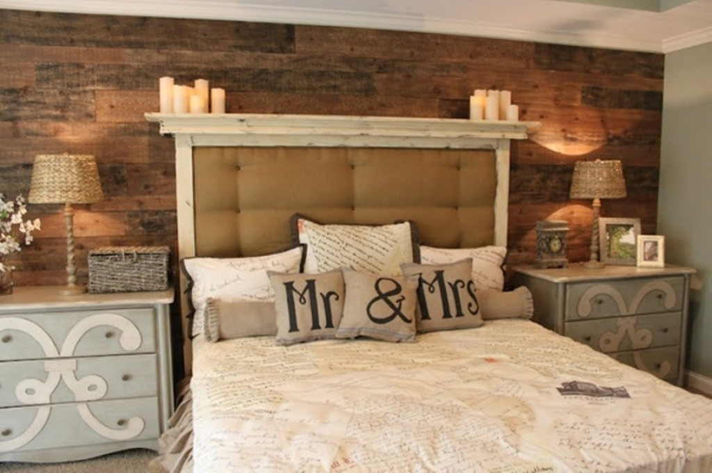Glamorous Rustic Themed Bedroom Ideas