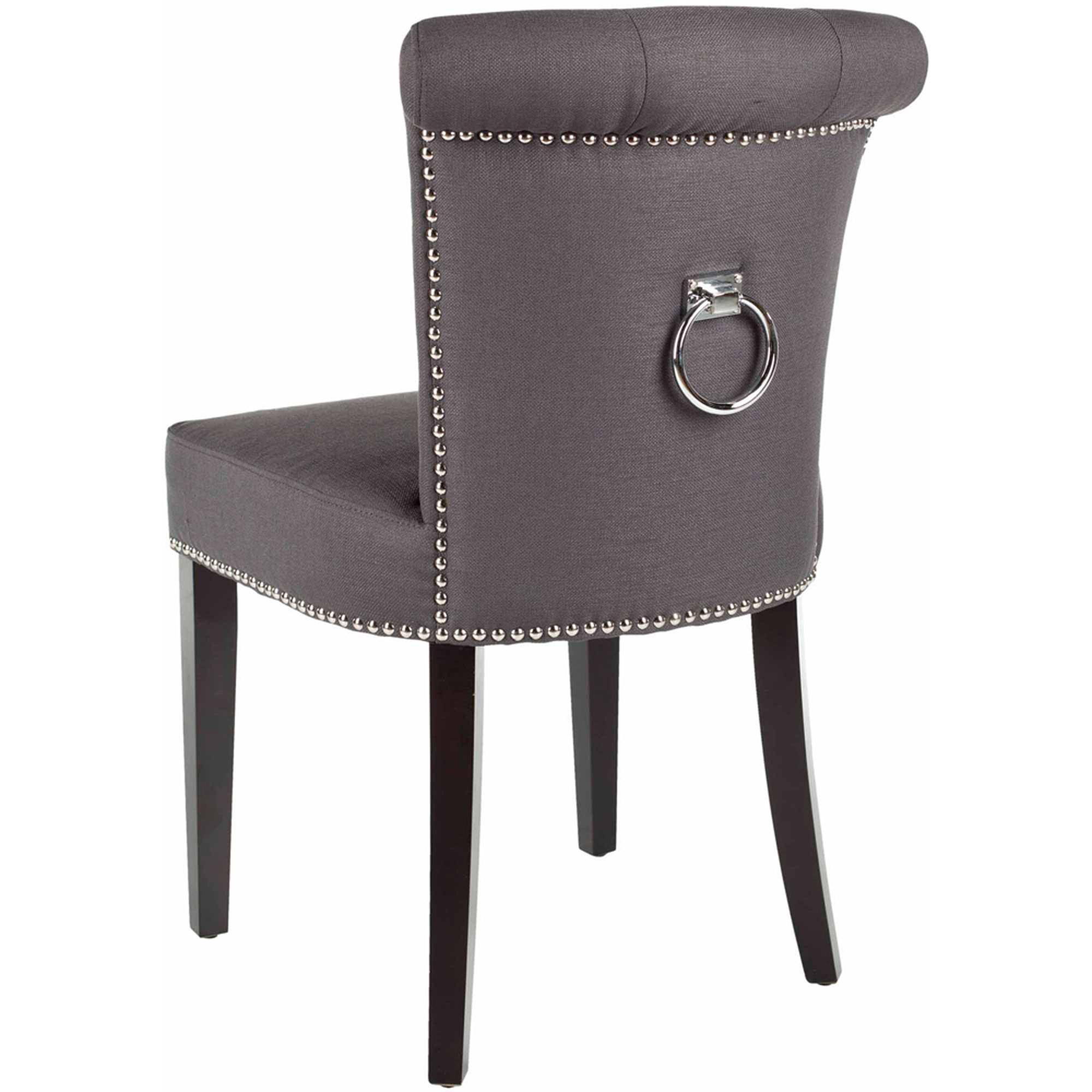 Image of: Safavieh Dining Chairs with Rings on Back