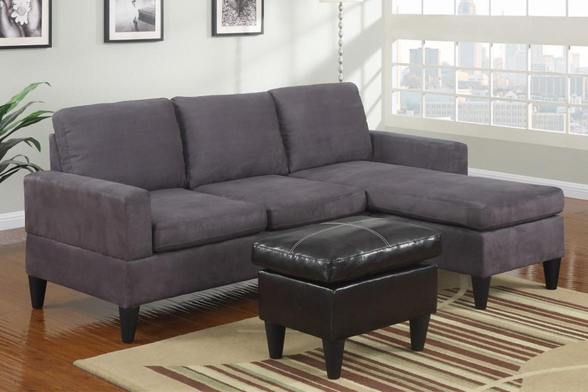 Image of: Sectional Couches Microfiber