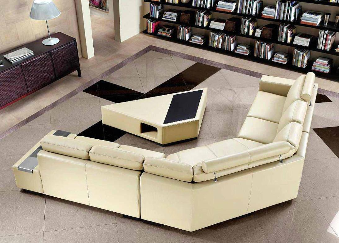 Image of: Sectional Couches With Ottoman