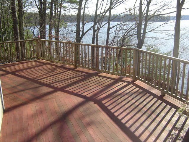 Image of: Semi Transparent Deck Stain Porch