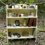 Shabby Chic Bookcase Color