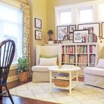 Shabby Chic Bookcase Library