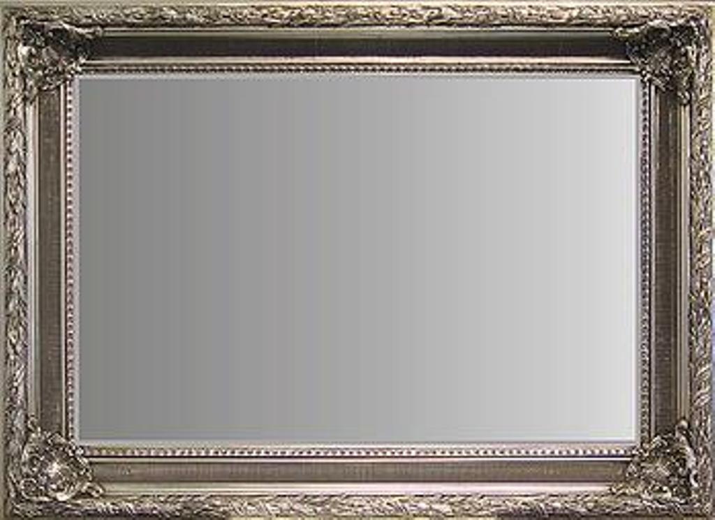 Image of: Silver Framed Mirror Manufacturers