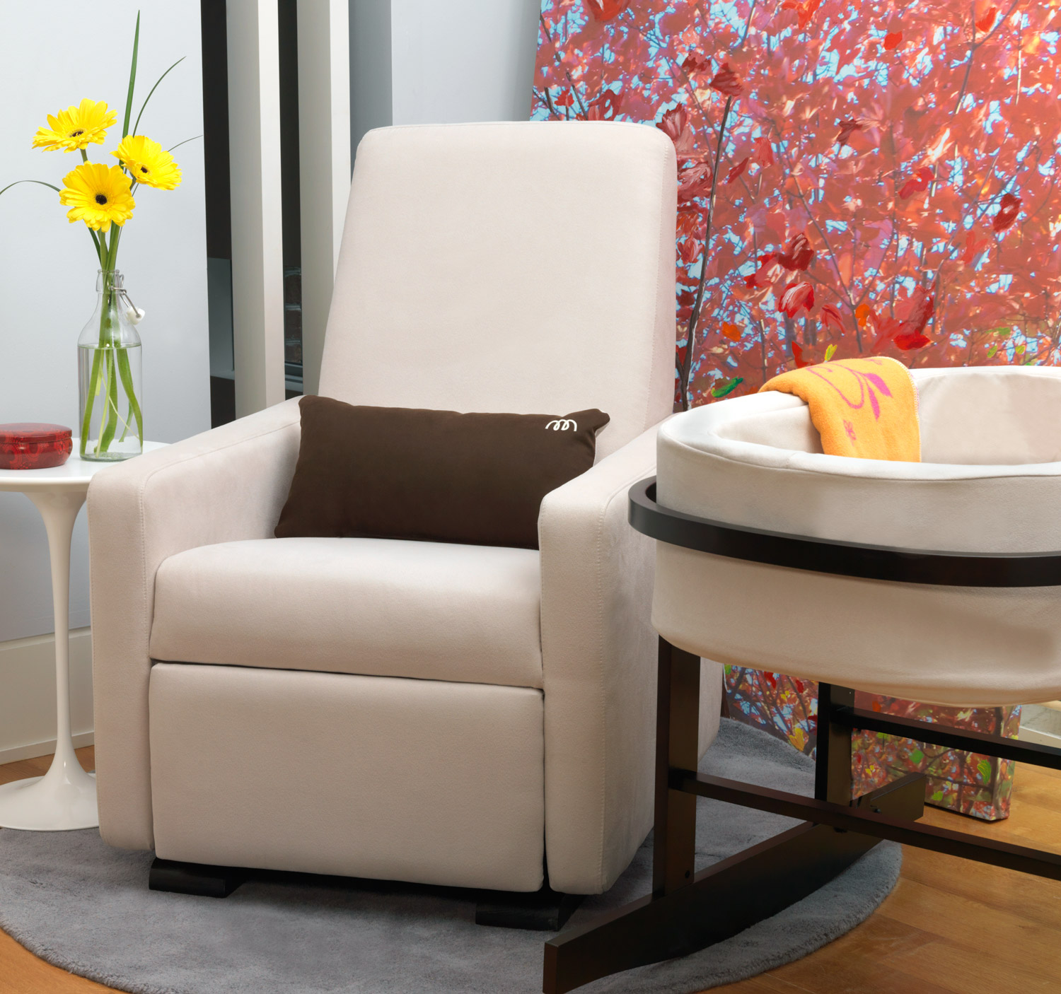 Image of: simple glider recliner chair ideas