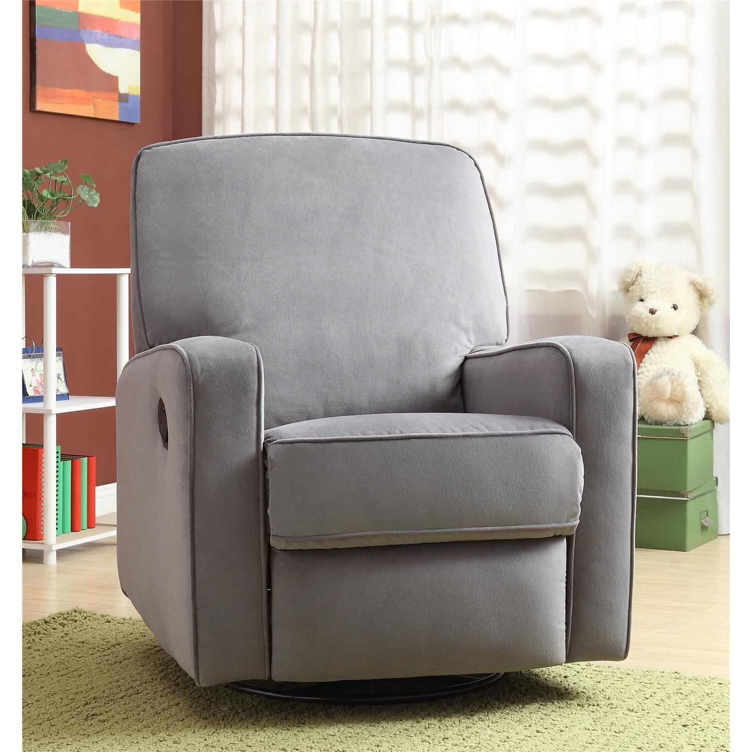 Image of: simple glider recliner chair
