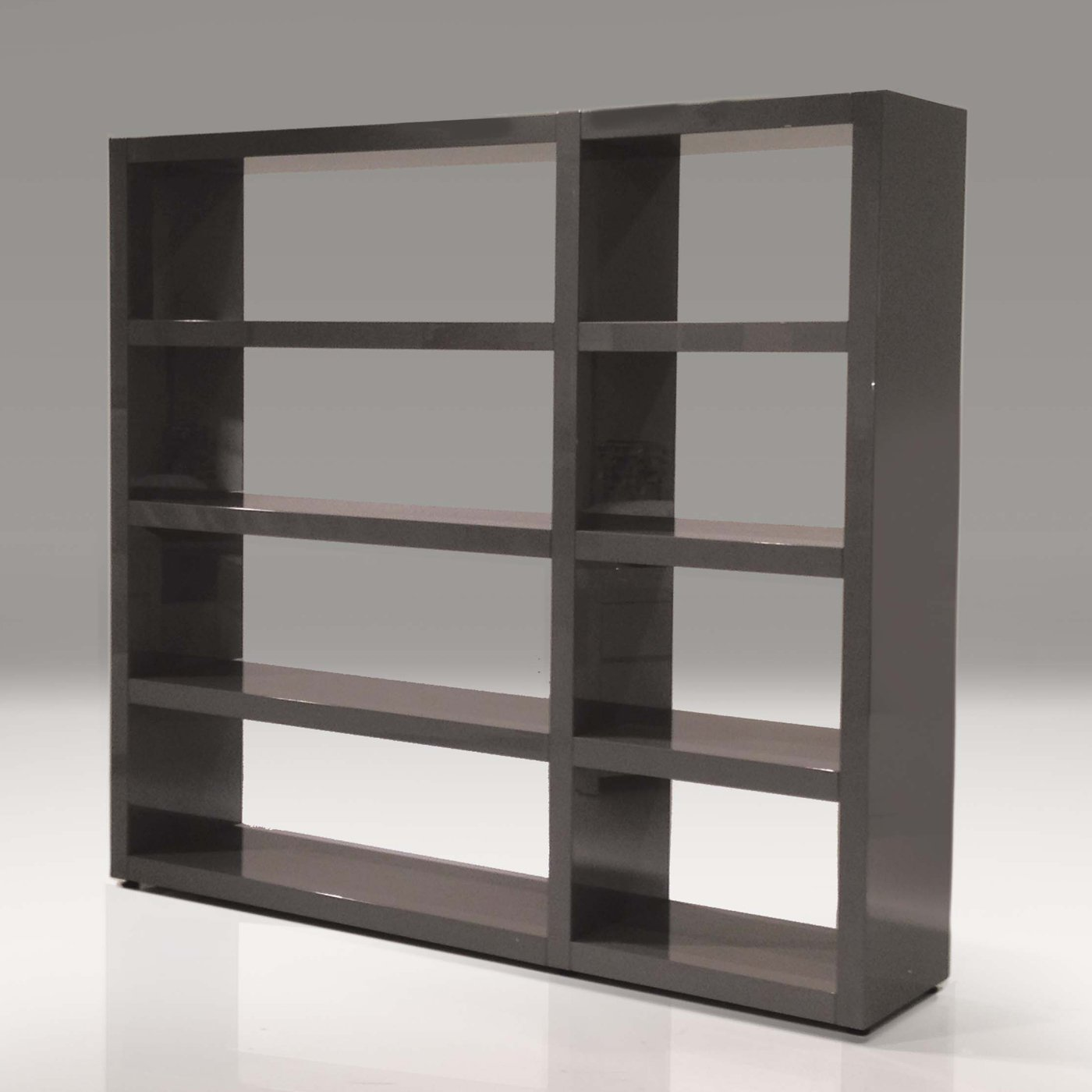 Image of: Simple Grey Bookcase