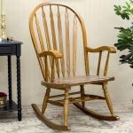Simple Mission Style Rocking Chair
