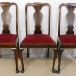 Simple Queen Anne Dining Chairs
